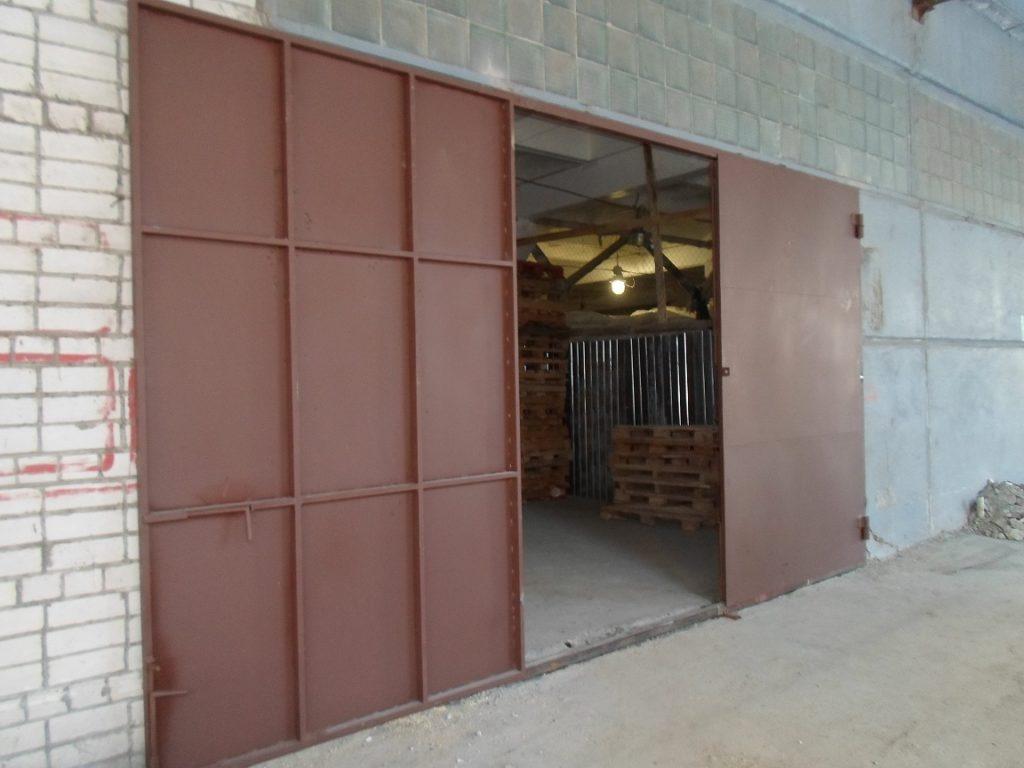 Ворота гаражные большие