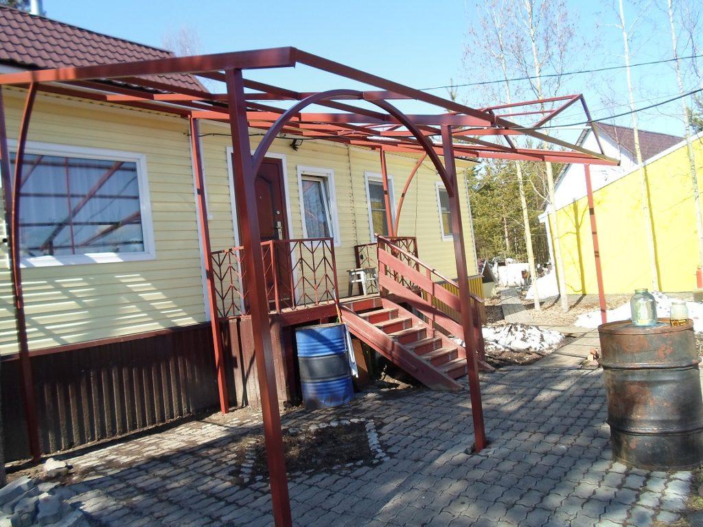 Козырьки и навесы в Архангельске