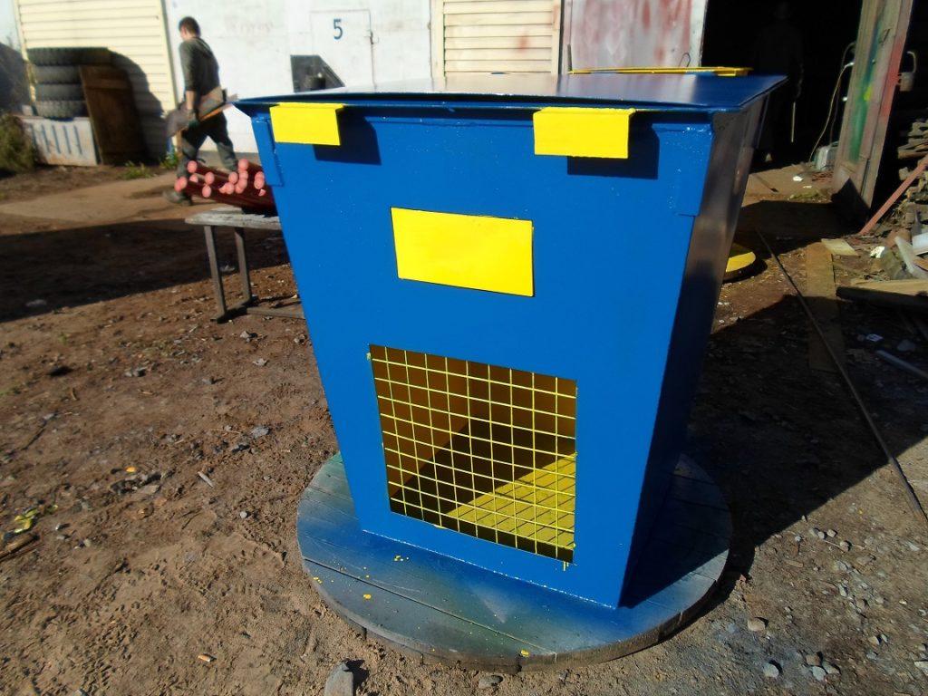 Контейнеры для мусора в Архангельске