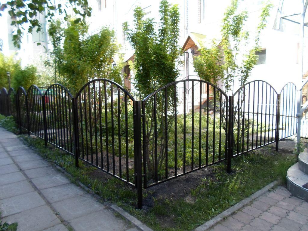 Ограждения металлические в Архангельске
