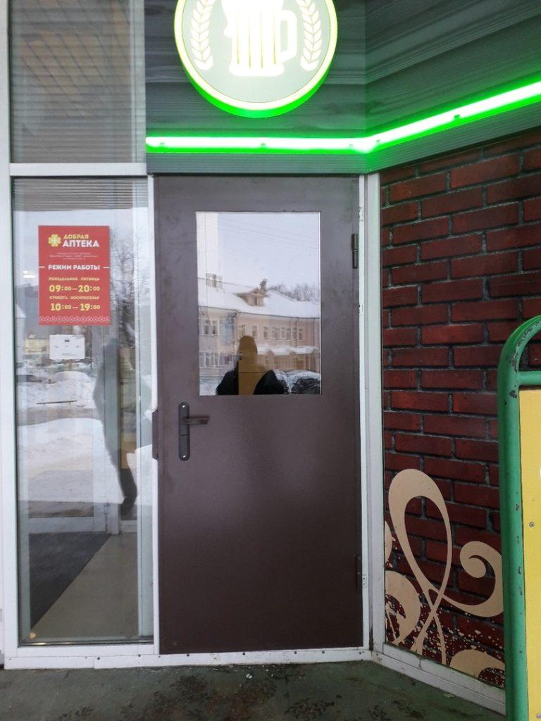 Металлические двери в Архангельске