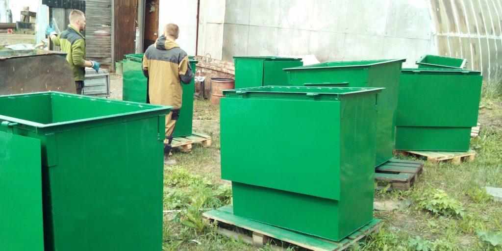 Контейнеры мусорные