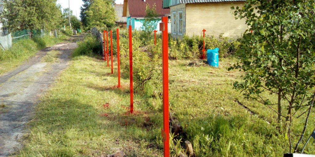 Столбы для забора в Архангельске